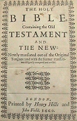 Click Here -KJV 1660 Title Page - Ask for the old paths, where is the good way!