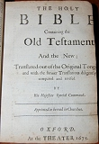 Click Here -KJV 1675 Title Page - Ask for the old paths, where is the good way!