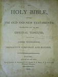 Click Here -KJV 1803 Title Page - Ask for the old paths, where is the good way!